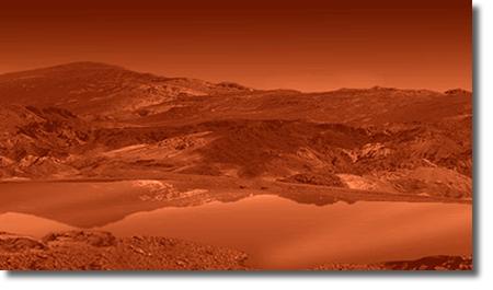 Озеро на Титане