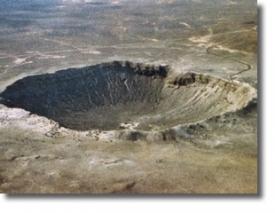 Метеоритный кратер Каньон-Дьябло