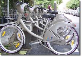 Велосипеды парижской системы Velib