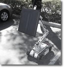 Робот-шпион Cougar20-H способен видеть сквозь очень толстые стены