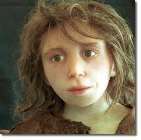 Реконструкция неандертальского ребенка (Институт антропологии, Цюрихский университет)