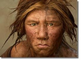 Реконструкция неандертальской женщины