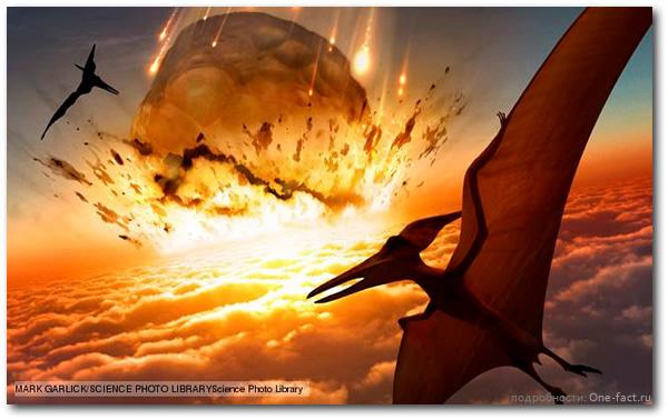 Астероид падающий на Землю