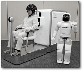 Система «мысленного управления» роботом ASIMO