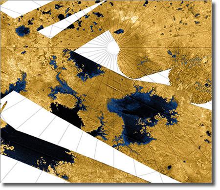 Северный полюс Титана