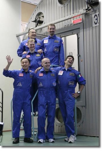 Участники Марс500