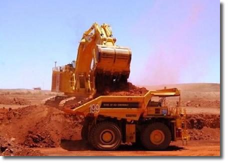 Погрузка железной руды