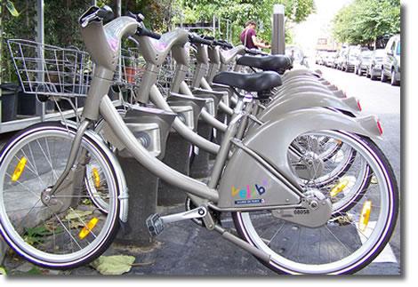 Велосипеды Velib