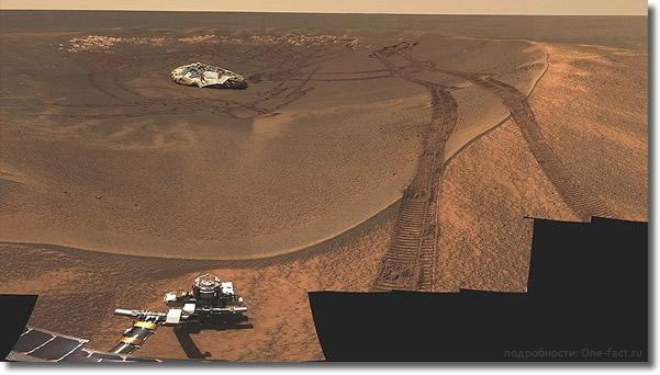 Марс. Eagle Crater