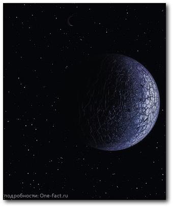 Одинокая ледяная планета