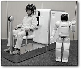 Управление мыслью роботом ASIMO