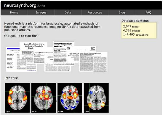 Проект neurosynth.org