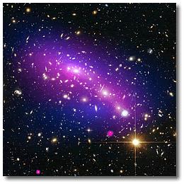 Снимок космическго телескопа «Чандра» в рентгеновском диапозоне.