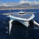 [video-fact] Крупнейший корабль на солнечных батареях пересек свой первый океан…